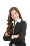 Beautiful young asian businesswoman Stock Photos