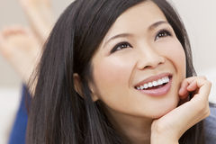 Beautiful Young Asian Chinese Woman Stock Image