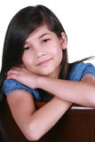 Beautiful young asian girl royalty free stock image
