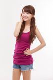Beautiful young Asian Lady. Stock Images