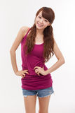 Beautiful young Asian Lady. Royalty Free Stock Image