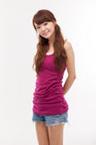 Beautiful young Asian Lady. Stock Photos