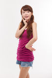 Beautiful young Asian Lady. Stock Image