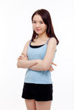 Beautiful young Asian Lady Royalty Free Stock Photography