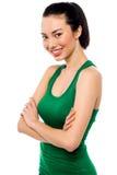 Beautiful young asian teenager posing Stock Photography