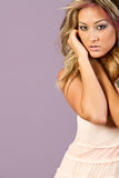 Beautiful young asian woman Stock Image