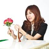 Beautiful young asian Stock Photography