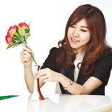 Beautiful young asian Stock Image