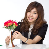 Beautiful young asian Stock Images
