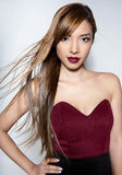 Beautiful young asian woman Royalty Free Stock Photography