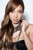 Beautiful young asian woman Stock Photography