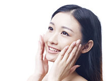 Beautiful young asian woman Stock Photo