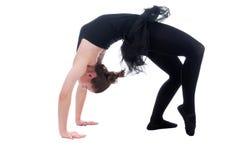 Beautiful young ballerina woman Stock Images