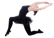 Beautiful young ballerina woman Royalty Free Stock Photography