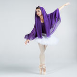 Beautiful young ballet dancer Stock Photos