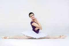 Beautiful young ballet dancer Stock Images
