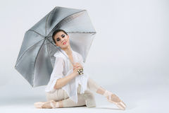Beautiful young ballet dancer Royalty Free Stock Image