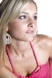 Beautiful Young Blond Woman royalty free stock photo