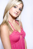 Beautiful Young Blond Woman Royalty Free Stock Photography