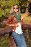 Beautiful young blond woman Stock Photography