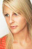 Beautiful young blonde. Royalty Free Stock Image