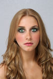 Beautiful Young Blonde, Headshot (1) Royalty Free Stock Photos