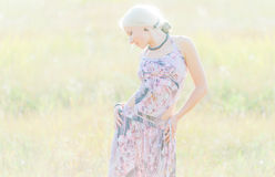 Beautiful young blonde Royalty Free Stock Images