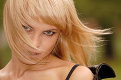 Beautiful young blonde portrait Royalty Free Stock Photos