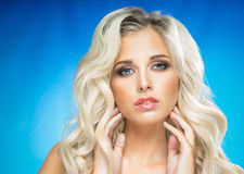 Beautiful young blonde Stock Image