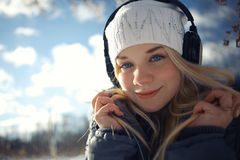 Beautiful young blonde teen Royalty Free Stock Photography