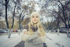 Beautiful young blonde teen Royalty Free Stock Photos