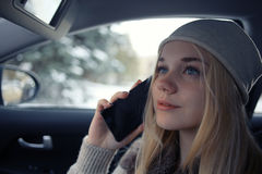 Beautiful young blonde teen Royalty Free Stock Photo