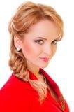 Beautiful young blonde woman Royalty Free Stock Photos