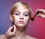Beautiful young blonde woman Stock Photo