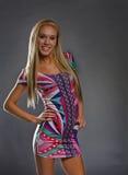 60's blonde woman Royalty Free Stock Photos