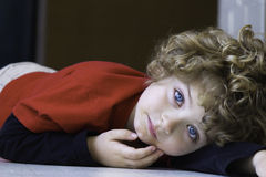 Beautiful young boy Stock Image