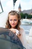 Beautiful young bride Stock Photos