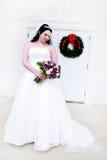 Beautiful Young Bride stock photo