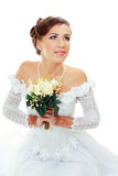 Beautiful young bride Royalty Free Stock Photos