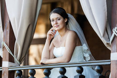 Beautiful young bride Royalty Free Stock Photography