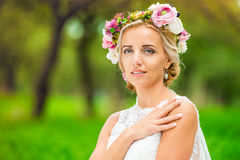 Beautiful young bride Royalty Free Stock Images