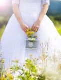 Beautiful young bride Royalty Free Stock Photos