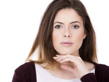 Beautiful young brunette Royalty Free Stock Image