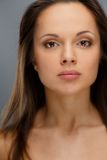 Beautiful young brunette woman Royalty Free Stock Images