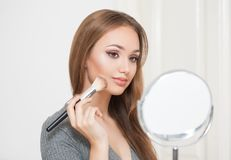 Amazing makeup beauty. Stock Photos