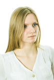 Beautiful young business lady Royalty Free Stock Photos