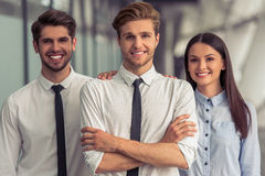 Beautiful Young Business People Stock Photo