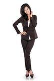 Beautiful young business woman Stock Photos