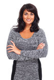 Beautiful young business woman. Stock Photo