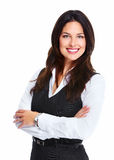 Beautiful young business woman. Royalty Free Stock Images